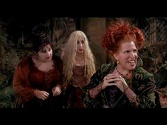 """hocus pocus """"Come, we Fly"""" Hocus Pocus 1993, Projection Mapping, Thriller, Scene, Youtube, Nail Ideas, Che Guevara, Movies, Halloween"""