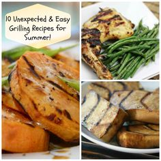 10 Easy & Unexpected Grilling Recipes for Summer