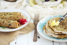 sprouted spelt pancakes