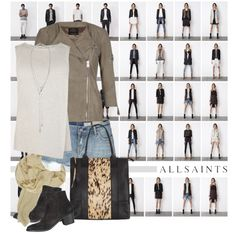"""""""AllSaints S/S 2013"""" by nikkeeb on Polyvore"""