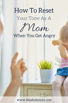 As a mom you set the tone in the house. When you get angry and upset your kids feed off of that and the whole house can be one large anger fest. Here are 5 ways to reset your tone when things get thrown off.
