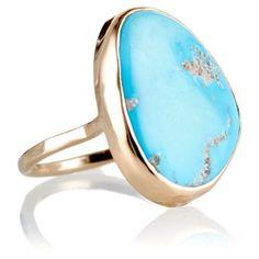 Arizona Morenci Turquoise Ring