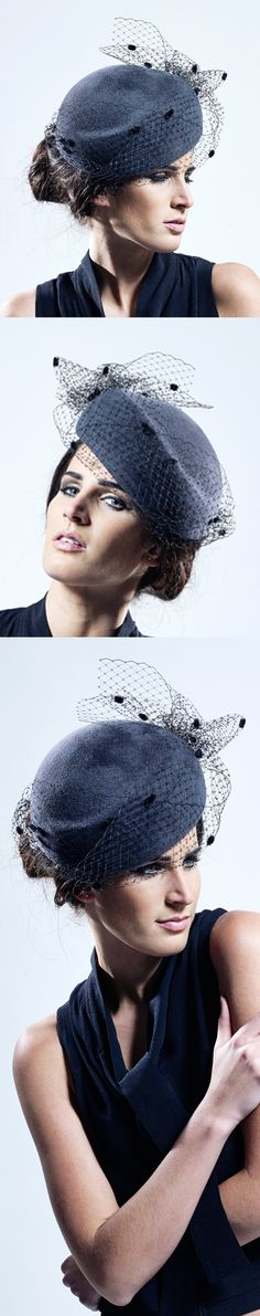Rosie Olivia Millinery, A/W 2013. #millinery #judithm #hats