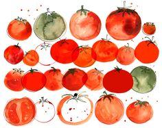 "Margaret Berg : food / veggies; ""You say Tomato..."""