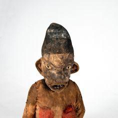 Ahnenfigur 'muzidi' Bembe  (detail) Demokratische Republik Kongo -> Auktion 115B - Text: deutsche Version