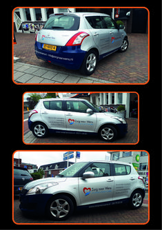 Autobelettering Zorg Naar Wens Car, Automobile, Vehicles, Cars, Autos