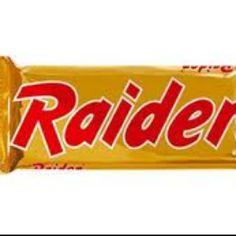 Ach die goeie oude tijd, toen een Twix nog gewoon een Raider was....