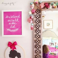 Best Free Printables For Your Walls - She Believed She Could SO She Did Free Printable - Free Prints for Wall Art and Picture to Print for Home and Bedroom Decor - Crafts to Make and Sell With Ideas for the Home, Organization - Quotes for Bedroom, Living Room and Kitchens, Vintage Bathroom Pictures - Downloadable Printable for Kids - DIY and Crafts by DIY JOY http://diyjoy.com/free-printables-walls