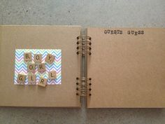 DIY baby book Personalise it!!!! BOY or GIRL  http://www.facebook.com/amoresplendido