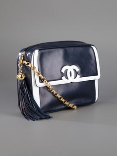 Chanel Vintage Chain Bag available from farfetch.com #Repin By:Pinterest++ for iPad#