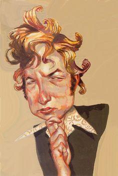 Tim Bower on Bob Dylan. Reminiscent of Philip Burke
