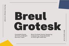 Fonts: Typesketchbook Foundry - Bruel Grotesk (sale 85%)