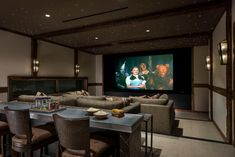 Living Room Home Theater, Home Theater Setup, Best Home Theater, Home Theater Design, Living At Home, Movie Theater, Theater Seating, Architecture Design, Console