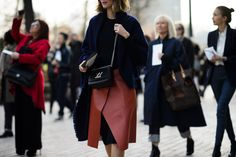 On the Streets of Paris Fashion Week Fall 2015 - Paris Fashion Week Fall 2015 Street Style Day 8-Wmag