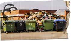 Monsterized dumpsters