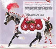 Close up of 2015 Christmas Horse