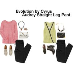 Evolution By Cyrus Audrey Straight Leg Pant