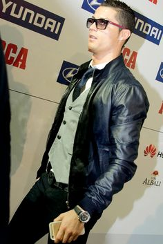 Cristiano's stylish