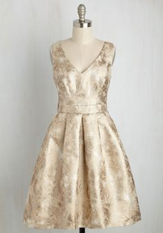 My Gift to You Dress in Gold