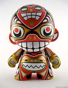 Munny design. Mexican style patterns