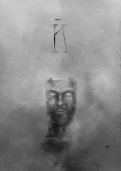 Wacom self portrait Contest 2013    #kampen #illustration #graficdesign #wacom #cintiq #black and #white #art #digital #painting