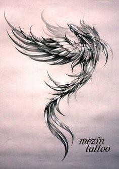 Phoenix Tattoo Feminine, Phoenix Bird Tattoos, Phoenix Tattoo Design, Phoenix Tattoo Sleeve, Rising Phoenix Tattoo, Phoenix Design, Leg Tattoos, Body Art Tattoos, Tattoos For Guys