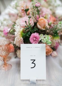 Minted Weddings Perfect Pinks Summer Wedding Tablescape.