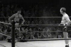 Boxing in 50's #Funny #FunnyGifs #Gif #Gifs #Hilarious #Humor #LOL #ROFL #Sports #WTF