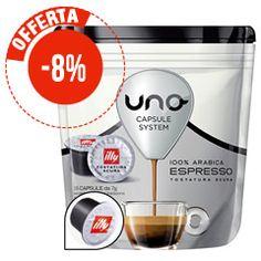 16 CAFFÈ UNO CAPSULE SYSTEM ILLY TOSTATURA SCURA