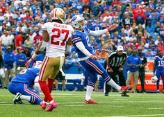 49ers vs. Bills:     October 16, 2016  -  45-16, Bills  -    Buffalo Bills kicker Dan Carpenter (2) boots a field goal during the first half of an NFL football game against the San Francisco 49ers, Sunday, Oct. 16, 2016, in Orchard Park, N.Y.