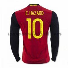 Belgia 2016 Landslagsdrakt E. Eden Hazard, Chelsea, Chelsea F.c., Chelsea Fc