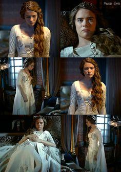 muhtesem yuzyil kosem, magnificent century kosem, anastasia hatun, white dress
