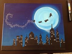 acrylic painting disney - Google Search