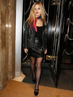 Rock: via @WhoWhatWear #rock #concert #outfit but with moto boots