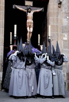 Holy Week In Spain, Spain Places To Visit, Malaga, Exotic Art, Bride Of Christ, The Rite, Spiritus, Good Friday, Sacred Art