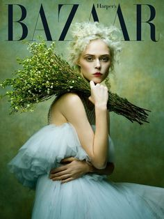 Coco Rocha (in Phuong My) for Harper's Bazaar Vietnam, January 2017. Photographed by Zhang Jingna. Stylist, Phuong My
