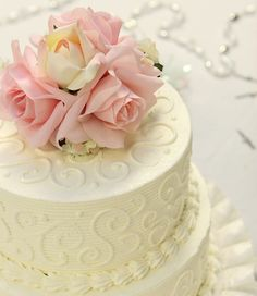 Touch of Pink Cake Topper