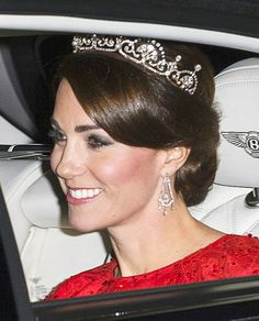 Kate arriving for Chinese State Banquet. 2015