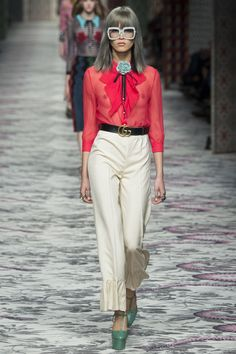 Gucci Spring 2016 Ready-to-Wear Fashion Show - Marga Esquivel