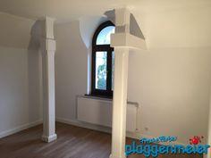Das Balkenwerk erhielt ebenfalls eine Lackierung - rustikal und edel zugleich vom Malerfachbetrieb in Bremen