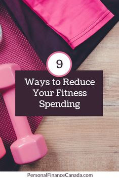 Health and fitness aren't free and are an important component of a monthly budget. There are 9 minor tweaks you can make to reduce your monthly fitness spend #finance #financialplanning #debt #budgeting #budgetingtips #money #moneysavingtips #financialfreedom #gym #fitness