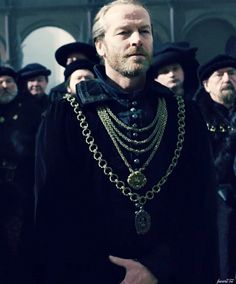 Ian Glenn as Earl of Warwick in The Hollow Crown. I think he'd make a good Sheriff of Nottingham.