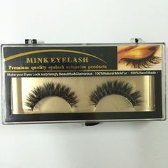 1 Pair of Handmade Real  Natural Horse Hair Thick Soft Eye Lashes Long Cross False Eyelashes MT005