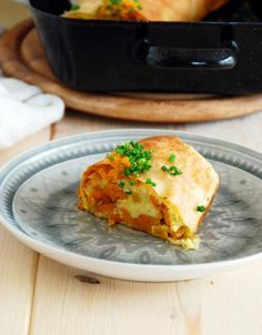 Kürbis Erdäpfel Strudel Austrian Recipes, Vegan, Food And Drink, Cooking, Breakfast, Ethnic Recipes, Empanadas, Low Carb, Goals