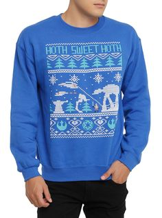 Star Wars Hoth ugly sweater pullover
