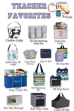 Teachers love these Thirty-One products! #teacherappreciation #teachergifts www.susansbagladies.com