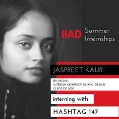 Way to go Jaspreet! . Make the most of your time at Hashtag 147 and share your experience with us when you're back on campus. .  Hashtag 147 is a group of vibrant and young creative minds who help brands create their success stories, achieve goals and bring them closer to their customers. They have worked with brands like Bhansali Productions, Looks Salon, Bunta Bar, Wonderland Foods and Hair Masters amongst others
