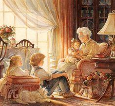 ✿Grandma & Grandpa✿ Story time with grandma ~ Trisha Romance