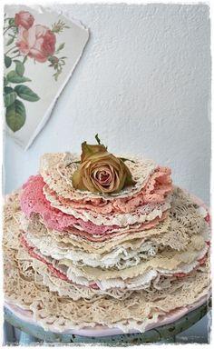 Stack of crochet lacehttps://www.pinterest.com/vikkiltucker/lovely-vintage-laces~/