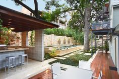 West 17th Street Residence - contemporary - pool - austin - Texas Construction Company